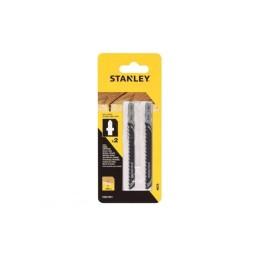 Pack 2 Lâminas HCS para Madeira Stanley STA21072-XJ