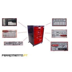 Conjunto Completo de 524 Ferramentas Teng Tools TCW-IQ524