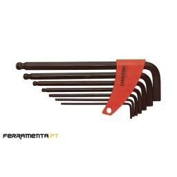 Jogo 7 Chaves Sextavadas 2,5-10mm Teng Tools 1475
