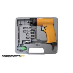 "Kit Aparafusadora Pneumática 1/4"" 69 Nm Unoair SD-68K"