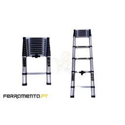 Escada Alumínio 12 Degraus Telescópica 3,80m Werku WK700150