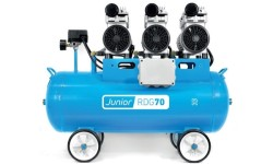 Compressor Silencioso Isento De Óleo 70L Rubete RGDG 70