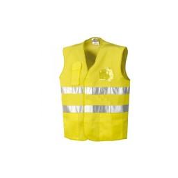 Colete Amarelo com bolso Industrial Starter 01250