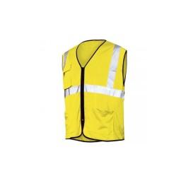 Colete em Tecido Perfurado Amarelo Industrial Starter 01265
