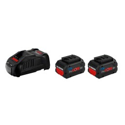 2 Baterias ProCORE18V 5.5Ah + GAL 1880 CV Professional BOSCH 1600A0214C