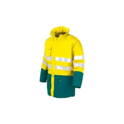 Casaco acolchoado  amarelo Industrial Starter 04634038