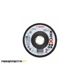 Disco de Lamelas X571 125mm x 60gr X-LOCK Bosch 2608619202