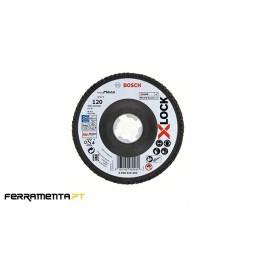 Disco de Lamelas X571 125mm x 120gr X-LOCK Bosch 2608619204