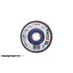 Disco de Lamelas X571 115mm x 120gr X-LOCK Bosch 2608619208