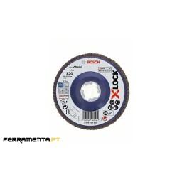 Disco de Lamelas X571 125mm x 120gr X-LOCK Bosch 2608619212