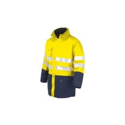 Casaco de proteção Amarelo / Azul Industrial Starter 04638N048