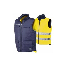 Colete Reversível Amarelo / Azul Industrial Starter 04069