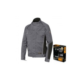 Casaco de proteção ISSA STRETCH Cinzento Industrial Starter 8845B