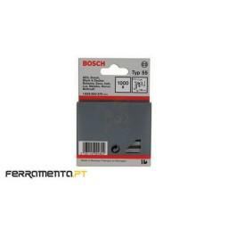 Agrafo estreito tipo 55 resinado 16mm Bosch 1609200372