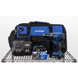 Berbequim Aparafusador 18V 2,0Ah Hyundai HYBT0190