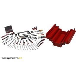 Caixa Metálica 144 Pcs Teng Tools TC-144D