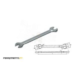 Chave de Bocas Métricas 18x19mm Teng Tools 621819