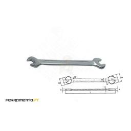 Chave de Bocas Métricas 20x22mm Teng Tools 622022
