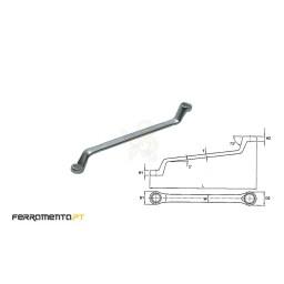 Chave Luneta Métrica 10x11 mm Teng Tools 631011