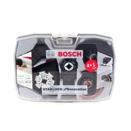 Conjunto de Acessórios p/ Multiferramenta 5un Bosch 2608664624