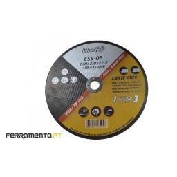 Disco abrasivo corte Inox 230x22,23mm MacFer CSS-05