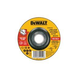 Disco De Corte Cóncavo E Alto Desempenho Para Metal-OSA 115x2.8mm Dewalt DT43910-QZ