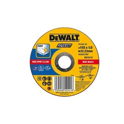 Disco De Corte Para Aço Inox 115x1mm Dewalt DT43901-QZ