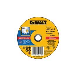 Disco De Corte De Alto Desempenho Para Aço Inox-OSA 125x1.2mm Dewalt DT43904-QZ