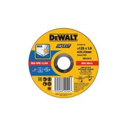Disco De Corte De Alto Desempenho Para Aço Inox-OSA 125x1mm Dewalt DT43902-QZ