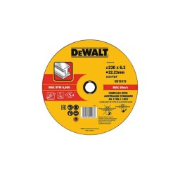 Disco De Corte Plano Para Metal Ø230x6.3 Dewalt DT43919