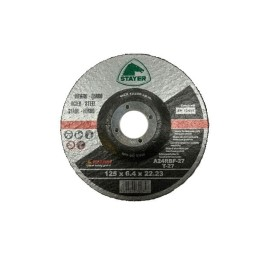 Disco de Desbaste de Metal 125x6,4mm Stayer 811011