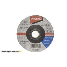 Disco de Rebarbar Metal 22.23x125mm Makita P-53023