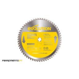 Disco TCT Aço INOX 355x25,4 90 Dentes Evolution EV31D35525490AI