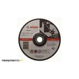 Discos Abrasivos de Corte Inox Côncavo 180x1,6x22.23 mm