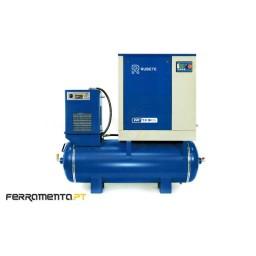 Compressor Parafuso 10HP 290Lt Reserv. + Secador Rubete EVO2-7.5-10R3S
