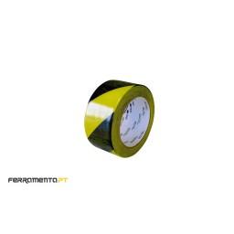 Fita de Vinil Amarela/Preta 50mmX33mt 3M 766i