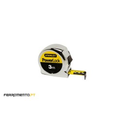 Fita Métrica PowerLock 3MX19MM Stanley 0-33-522