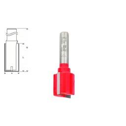 Fresa reta Para Madeira 8x20x56mm Bosch 2608629362