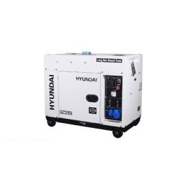 Gerador Diesel P/ Paineis Solares Hyundai DHY6600SE-LRS