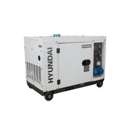 Gerador Diesel Silencioso 6.3Kw Hyundai DHY8600SE
