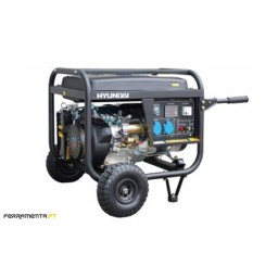 Gerador Gasolina 6,8 kW Hyundai HY10000LEK