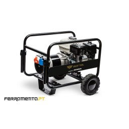 Gerador Gasolina 400V 9,2 kVA GT Powered by HONDA GT8TFH + Rodas