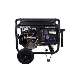 Gerador Gasolina 6kW Hyundai HY9000LEK-R