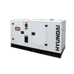 Gerador Industrial Trifásico 100 kVA Hyundai DHY 110 KSE