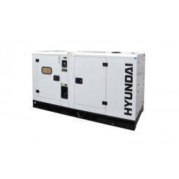 Gerador Industrial Trifásico 60 kVA Hyundai DHY 66 KSE