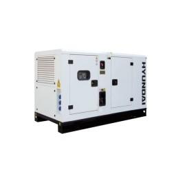 Gerador Industrial Trifásico 66 kVA Hyundai DHY 75 KSE