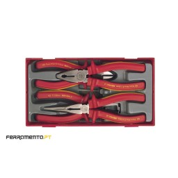 Jogo Alicates Isolados 1000 V Teng Tools TTV440