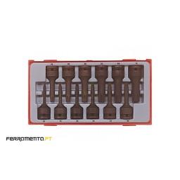 "Jogo Ponteiras Torx 1/2"" Teng Tools TT9212TX"