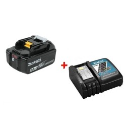 Kit Bateria 18V 6,0Ah BL1860B + Carregador DC18RC Makita