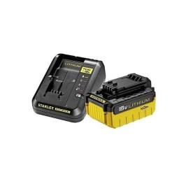 Kit Carregador +  Bateria 18V 4.0AH Stanley FMC694M1-QW